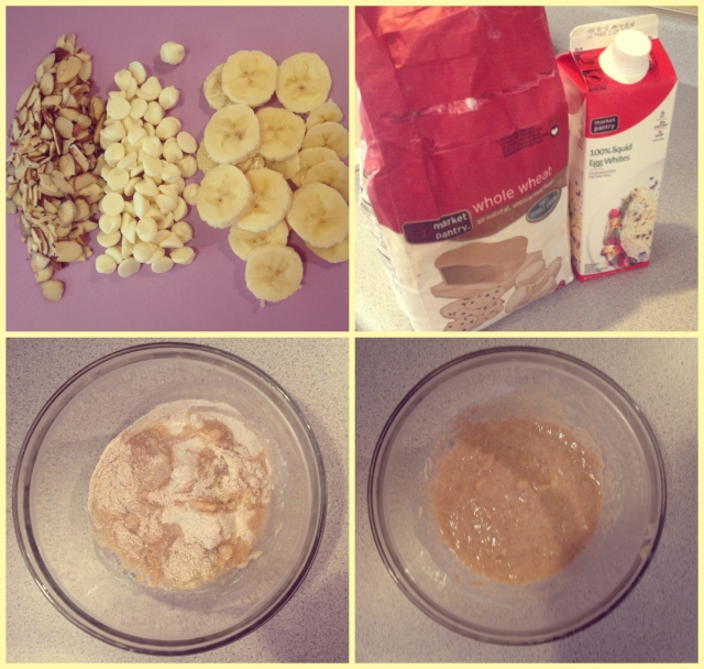 ingredients for kristi kellogg's banana pancake recipe